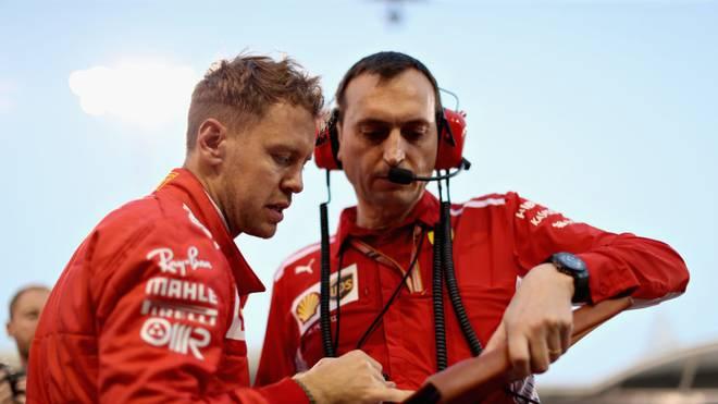 Ferrari-Pilot Sebastian Vettel kann sich eine Laufbahn als Ingenieur vorstellen