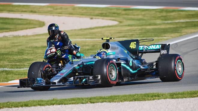Hamilton und Rossi machen Tausch