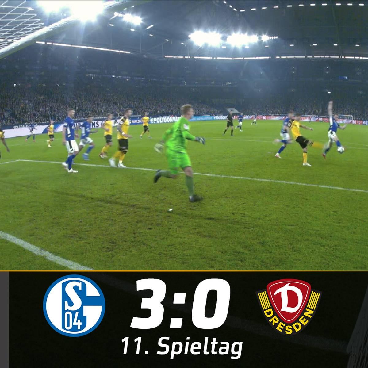 Ins Tor geblockt! Kurioser Treffer lässt Schalke jubeln