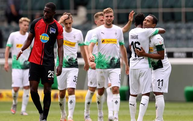 Raffael (r.) spielte sieben Jahre lang für Borussia Mönchengladbach