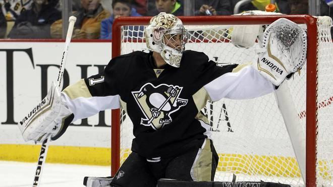 Thomas Greiss von den Pittsburgh Penguins