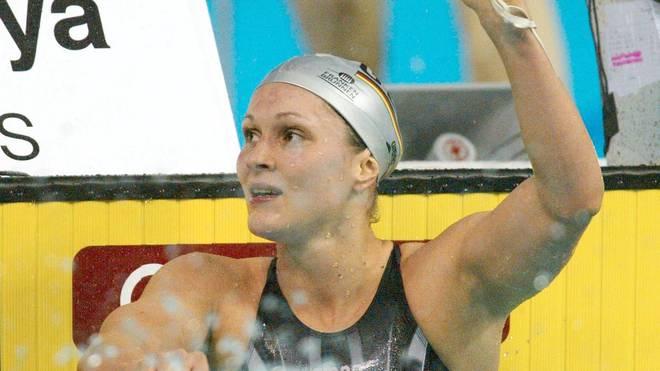 Die ehemalige Weltklasse-Schwimmerin Hannah Stockbauer musste zwei Wochen in Quarantäne