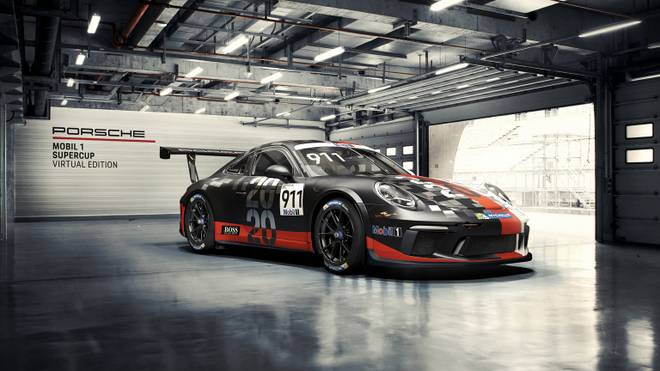 Der Porsche Mobile 1 Supercup Virtual Edition