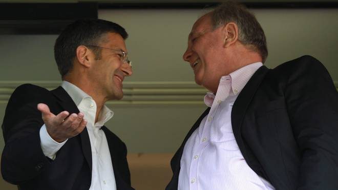Herbert Hainer und Uli Hoeneß sind seit vielen Jahren befreundet