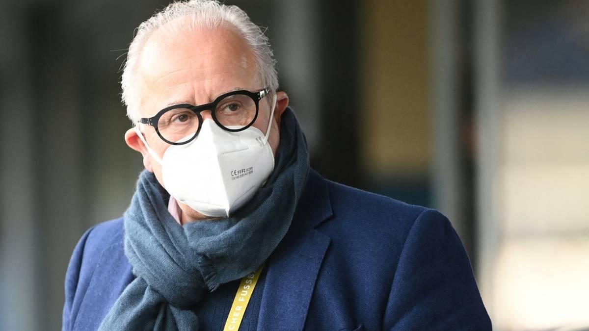 Fritz Keller übt Kritik an der Führungsstruktur des DFB