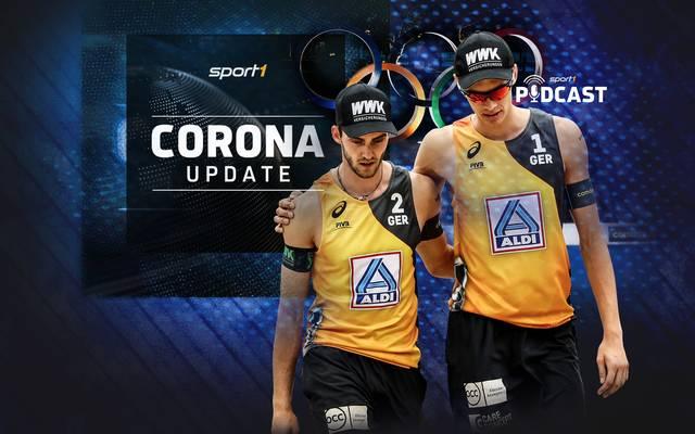 Podcast: Sport1 Corona Update: Beachvolleyballer