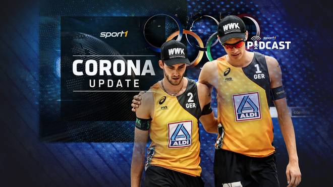 Podcast: Sport1 Corona Update: Beachvolleyballer
