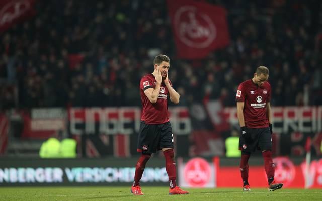 Der 1. FC Nürnberg hätte mit einem Sieg gegen Hertha BC auf den Relegationsplatz klettern können