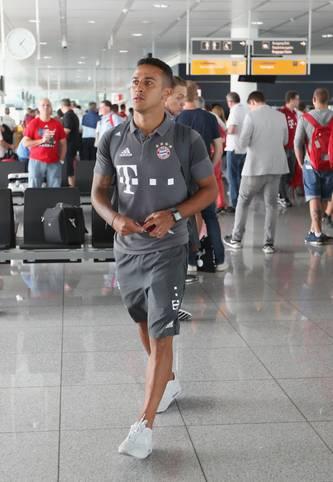 Auf nach Übersee! Der FC Bayern tritt zu seiner US-Tour an. Thiago und Co. sind noch bis 4. August in den USA unterwegs. SPORT1 zeigt die besten Bilder
