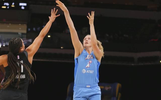 Vergangene Saison spielte Marie Gülich noch bei den Atlanta Dream