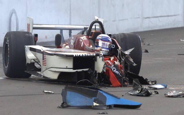 Alessandro Zanardi verunfallte am 15. September 2001 in der Champ Car Series schwer