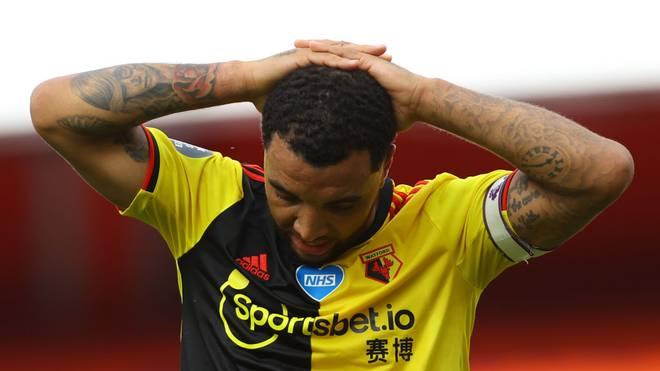 Troy Deeney ist mit dem FC Watford abgestiegen