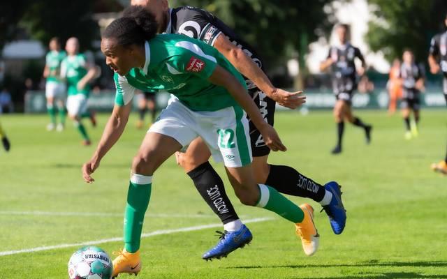 Tahith Chong bereitete das 2:0 für Werder Bremen vor