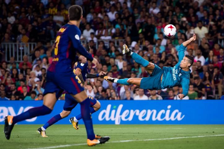 """Es ist wieder soweit: """"El Clasico"""" steht vor der Tür. Da der FC Barcelona bereits Meister ist, geht es am Sonntagabend (ab 20.45 Uhr im LIVETICKER auf SPORT1.de und LIVE und EXKLUSIV auf DAZN) hauptsächlich ums Prestige"""