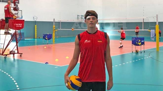 Für Tim Stöhr begann die Karriere im Nationalteam mit einem schmerzhaften Missgeschick