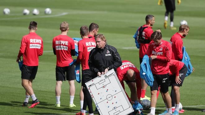 Beim 1. FC Köln bereiten sich die Spieler auf das Comeback vor