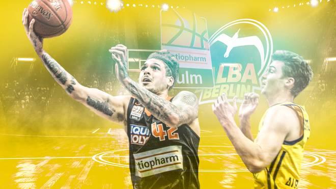BBL: ratiopharm Ulm - ALBA Berlin LIVE im TV, Stream & Ticker