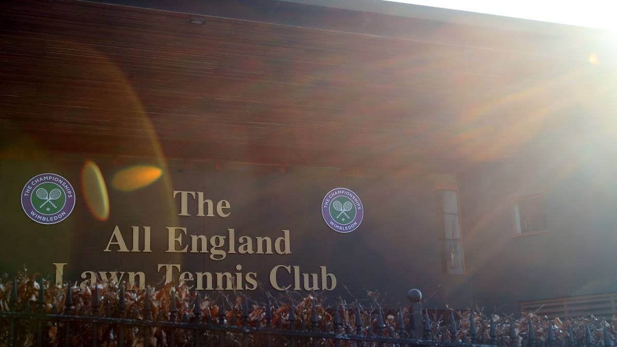 Wimbledon droht wegen Corona historische Absage