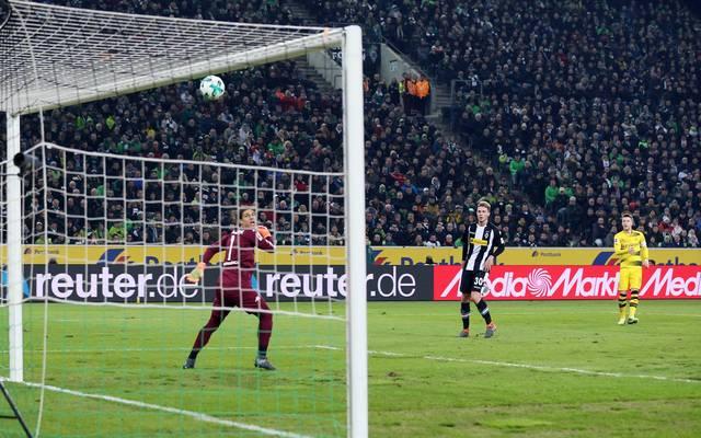 Marco Reus (r.) erzielte sein erstes Tor seit dem 34. Spieltag der Vorsaison