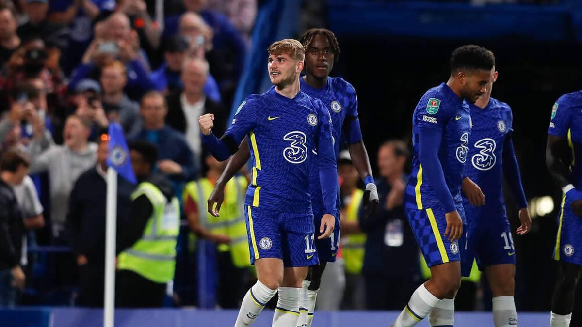 Werner trifft bei Chelsea-Zittersieg - United scheitert ohne CR7