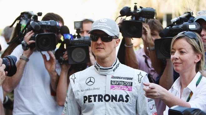 Michael Schumacher feierte 2010 in Bahrein sein vielbeachtetes Formel-1-Comeback