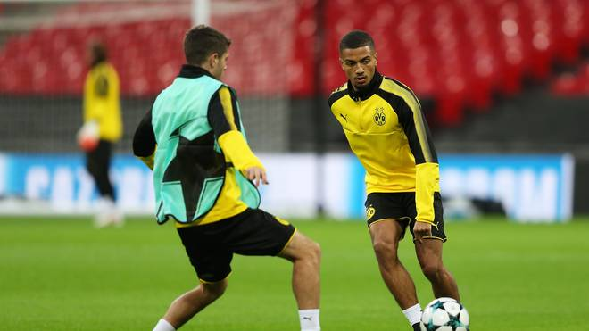 Borussia Dortmund Training Session and Press Conference