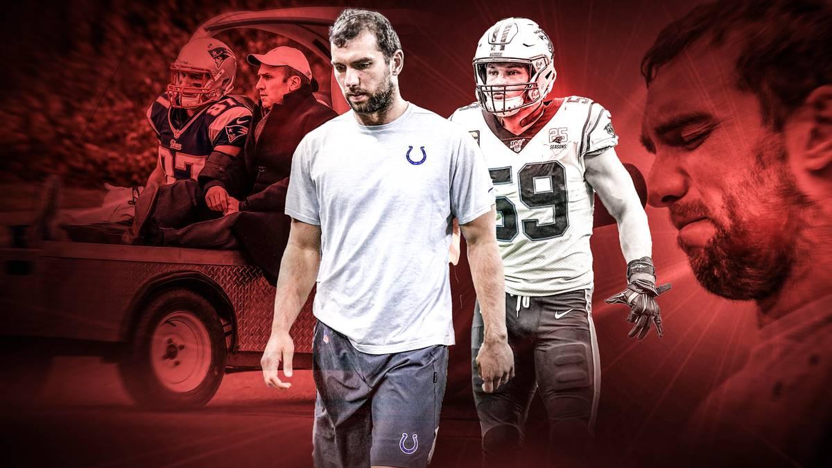 In den vergangenen Jahren beendeten mehrere NFL-Stars ihre Karriere vorzeitig