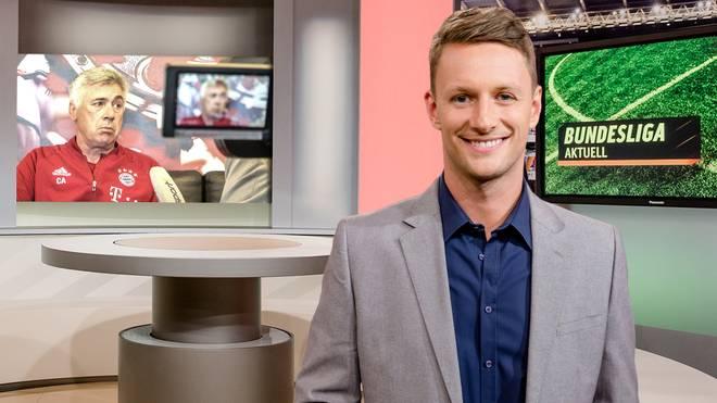 Jochen Stutzky führt als Moderator durch Bundesliga Aktuell