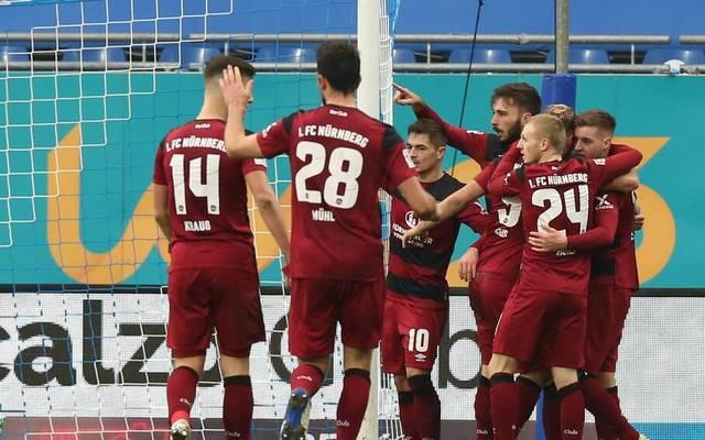 Der 1. FC Nürnberg feiert einen dramatischen Sieg beim SV Darmstadt