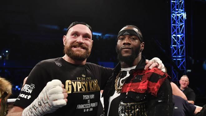 Boxen: Tyson Fury vs. Deontay Wilder findet am 1. Dezember statt