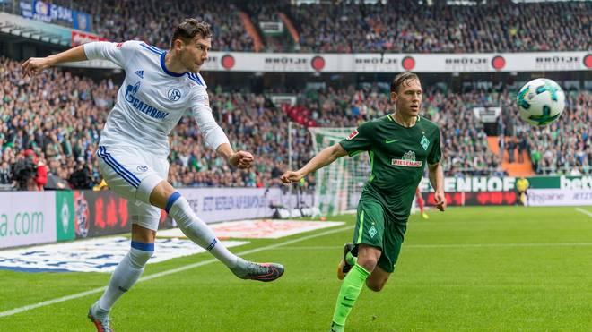 Leon Goretzka (l.) erzielte den Siegtreffer für Schalke