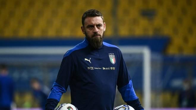 Daniele De Rossi musste wegen einer Covid-Erkrankung in ein Krankenhaus gebracht werden
