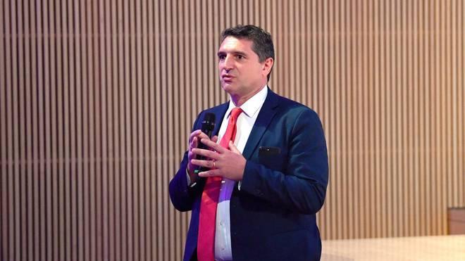 Luigi De Siervo ist Geschäftsführer der Serie A