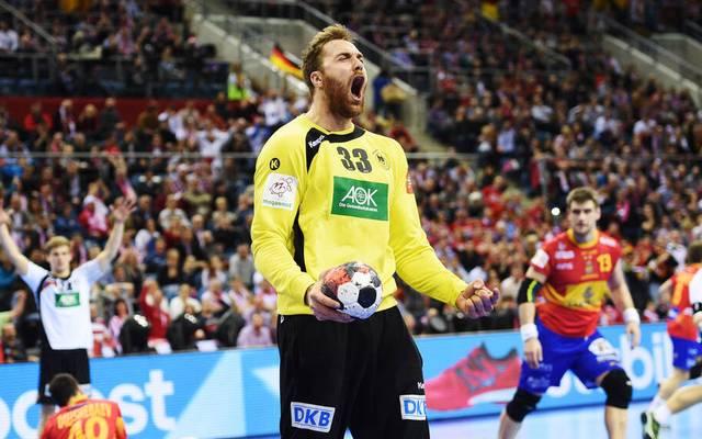 Andreas Wolff trieb die Spanier im EM-Finale 2016 zur Verzweiflung