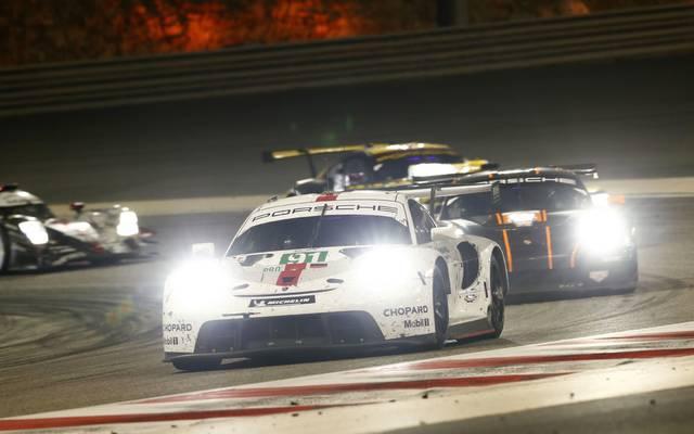 Für Porsche lief es in Bahrain alles andere als rund