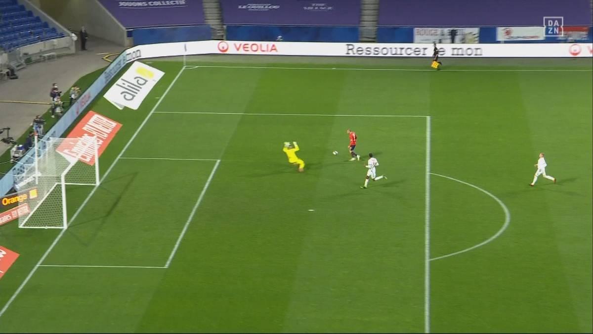 Aus 0:2 mach 3:2! So spektakulär holt Lille PSG von der Spitze