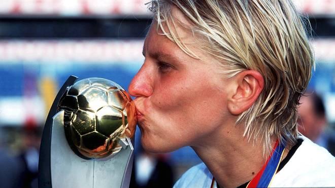 Doris Fitschen wurde mit Deutschland viermal Europameisterin
