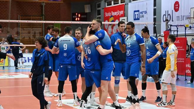 Der VfB Friedrichshafen steht im Finale der Volleyball-Bundesliga