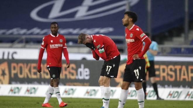 Hannover 96 muss eine bittere Niederlage gegen Würzburg hinnehmen