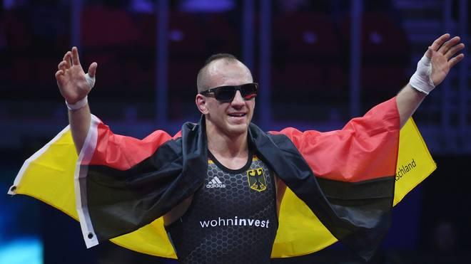 Frank Stäbler besiegte im WM-Finale 2018 in Budapest Balint Korpasi