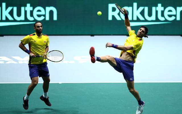 Doppel-Weltranglistenerste Robert Farah (r.) wurden wegen eines positiven Dopingtests zunächst suspendiert