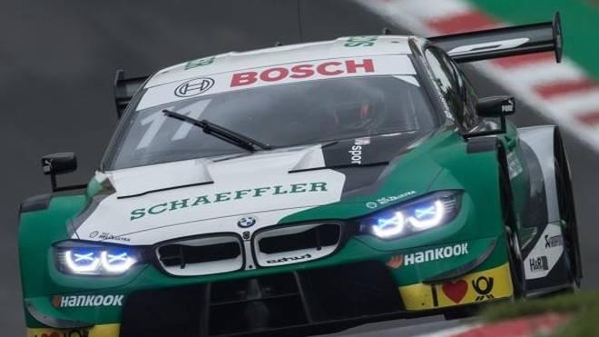 Marco Wittmann rettet sich in Brands Hatch gerade noch zum Sieg