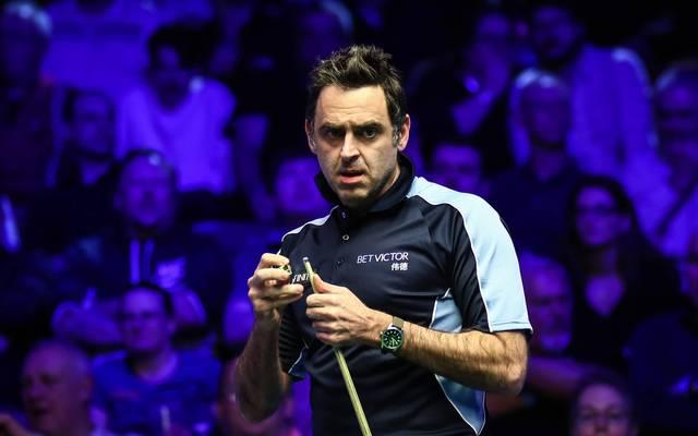 Ronnie O'Sullivan schimpft über den frühen Snooker-Restart