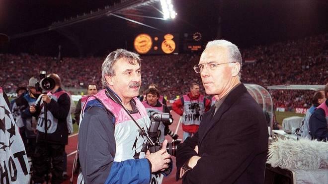 Hans Rauchensteiner begleitete auch Franz Beckenbauer über Jahrzehnte