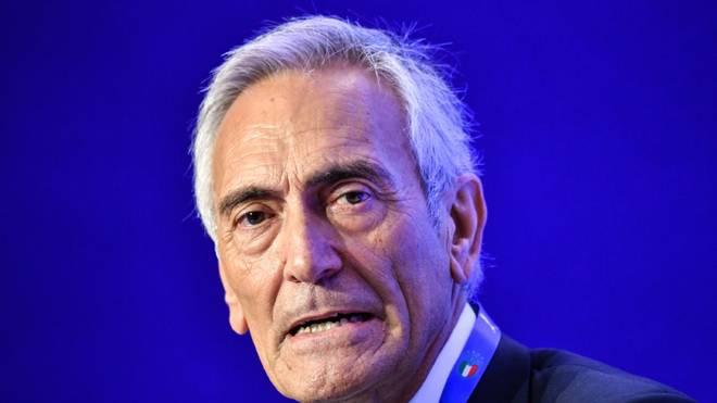 Italiens Fußballverband-Chef Gabriele Gravina