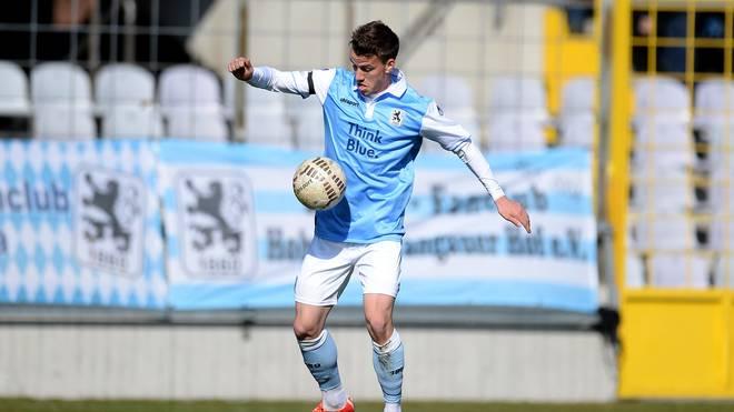 Nico Karger steht mit 1860 München an der Tabellenspitze
