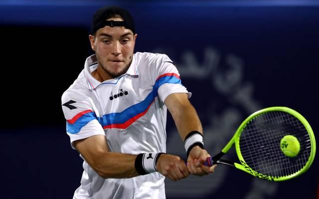 Jan-Lennard Struff ist beim ATP-Turnier in Dubai ins Achtelfinale eingezogen