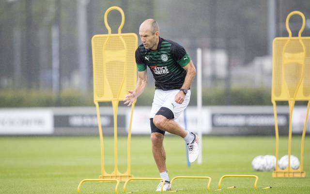 Arjen Robben feiert beim FC Groningen sein Comeback