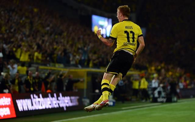 Marco Reus jubelt für den BVB