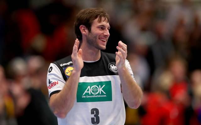Uwe Gensheimer ist Kapitän der deutschen Handball-Nationalmannschaft